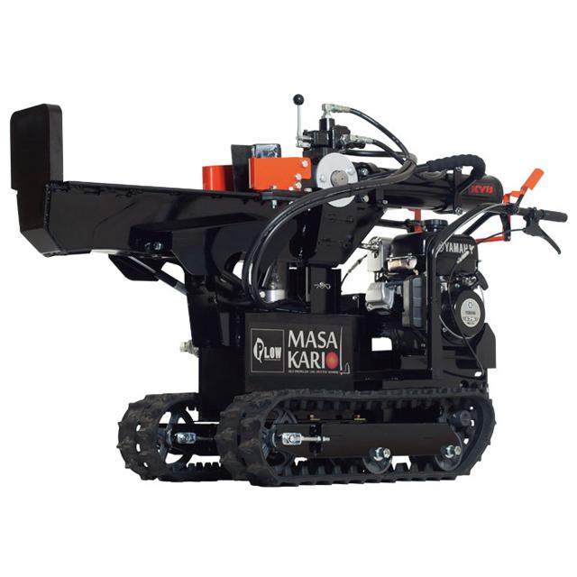 自走式縦横兼用エンジン薪割り機 MS4000J MASAKARI