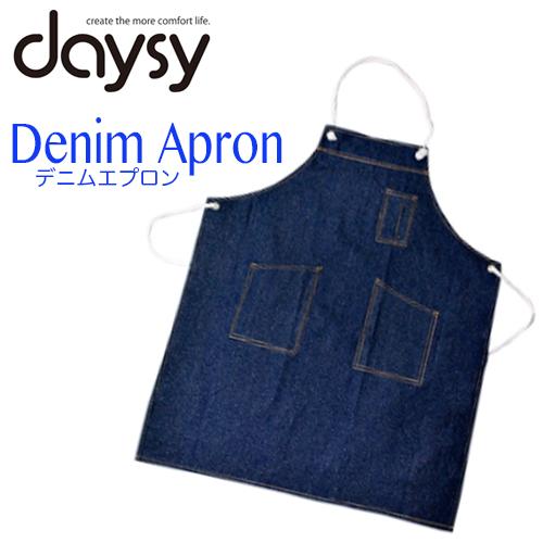 daysy デニムエプロン NS-60【白ヒモタイプ】